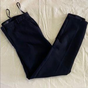 TopShop black straight leg cigarette pants size 4